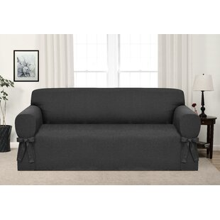 Charcoal Gray Couch Cover | Wayfair