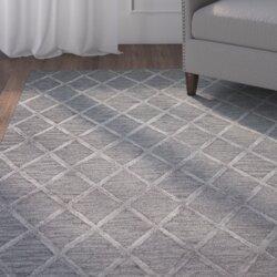 alexander handtufted greygrey area rug