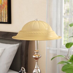 Glass student lamp shades wayfair 1588 glass bowl lamp shade aloadofball Image collections