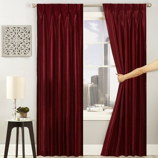 Well-liked Burgundy Velvet Curtains | Wayfair TS48