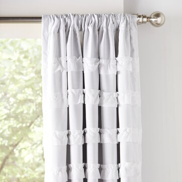 White Curtains black out white curtains : Curtains & Drapes | Birch Lane