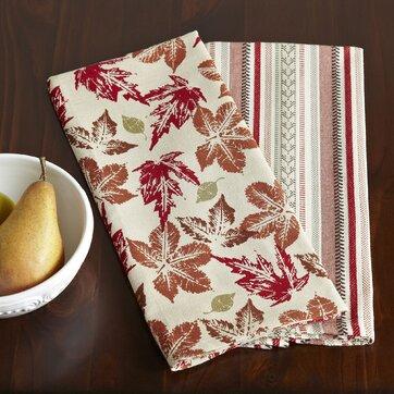 Autumn Leaf Kitchen Towel Set