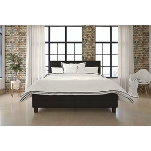 amherst upholstered platform bed - Upholstered Bed Frame