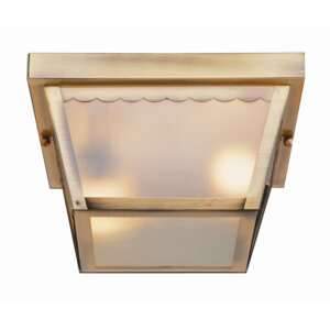 Brock 2-Light Outdoor Flush Mount