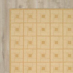 Square Knot Hand-Loomed Coarkboard Area Rug