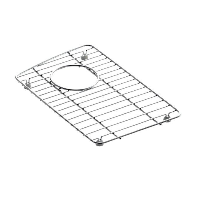 Kohler Wheatland 9 18 X 14 38 Stainless Steel Sink Rack For