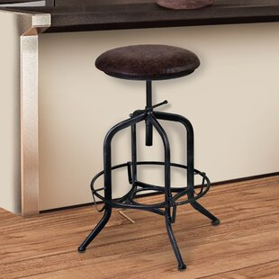 Cherlyn Adjustable Height Swivel Bar Stool Looking for