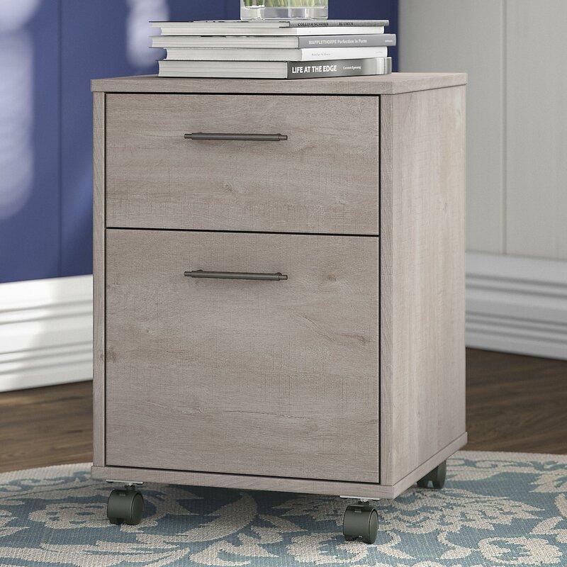 oridatown 2drawer mobile vertical filing cabinet