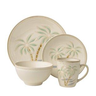 Palm Tree Dinnerware Set | Wayfair