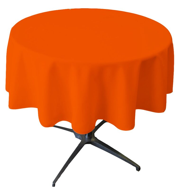Wayfair Basics™ Wayfair Basics Polyester Round Tablecloth & Reviews