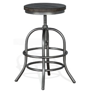 Keri Adjustable Height Swivel Bar Stool by Trent Austin Design