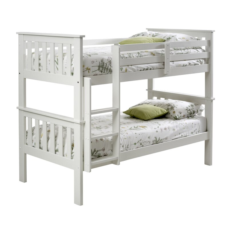 Just Kids Carra Single Bunk Bed With Mattress Wayfair Co Uk