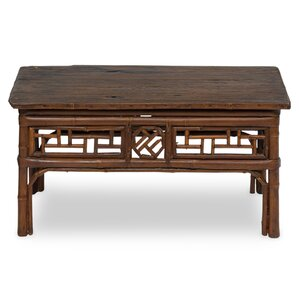 Bamboo Coffee Table by Sarreid Ltd
