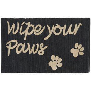 Wipe Your Paws Door Mat Wayfair