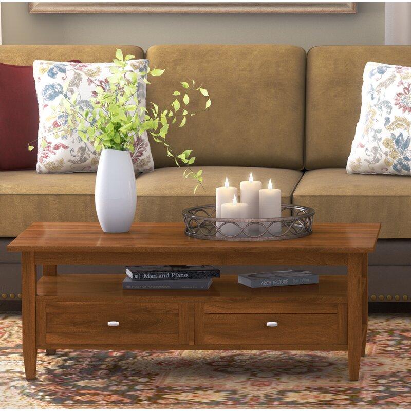 Simpli Home Warm Shaker Coffee Table & Reviews