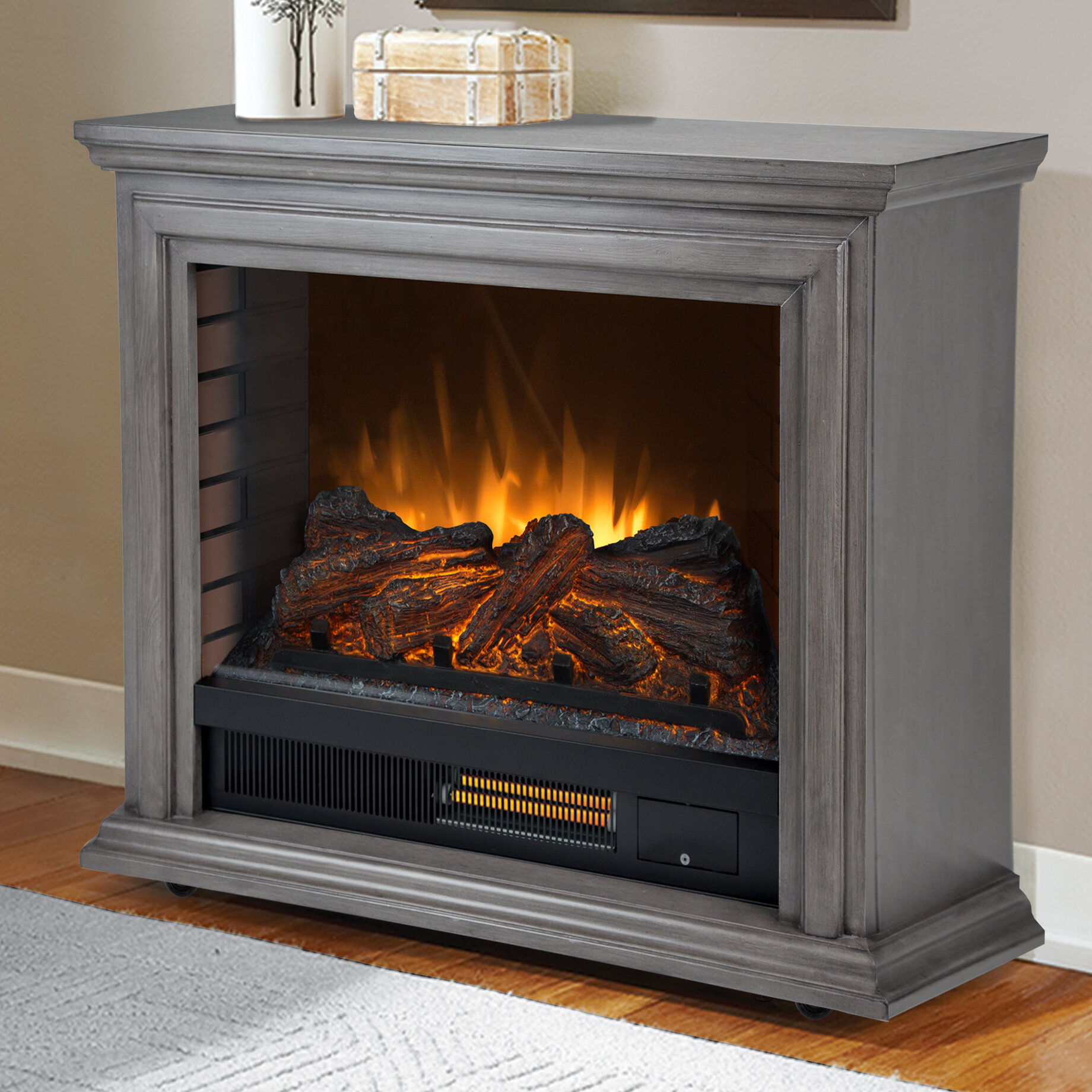 Pleasant Hearth Sheridan Electric Fireplace & Reviews