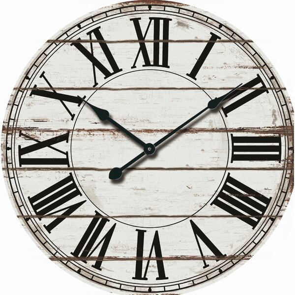 Oversized Rustic Clocks Wayfairca