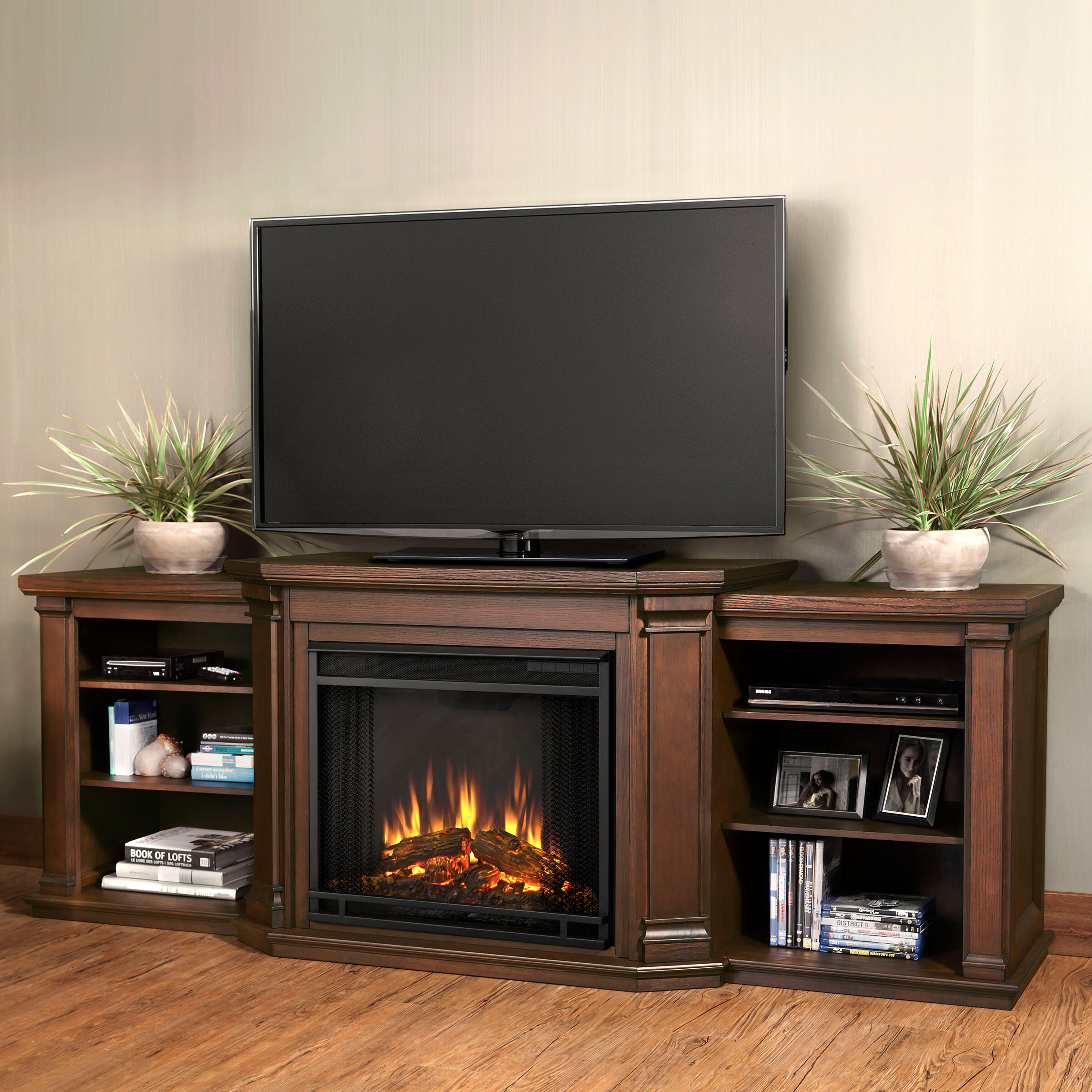 Terrific Valmont Tv Stand For Tvs Up To 75 With Fireplace Download Free Architecture Designs Ponolprimenicaraguapropertycom