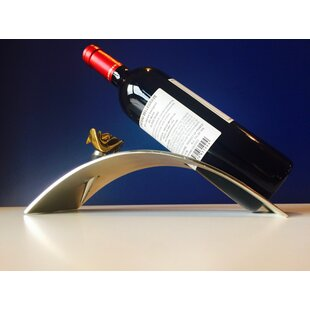 Lotus Arched 1 Bottle Tabletop Wine Rack