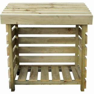Tiger 4 Ft. x 2 Ft. Wood Log Store by Tiger Sheds