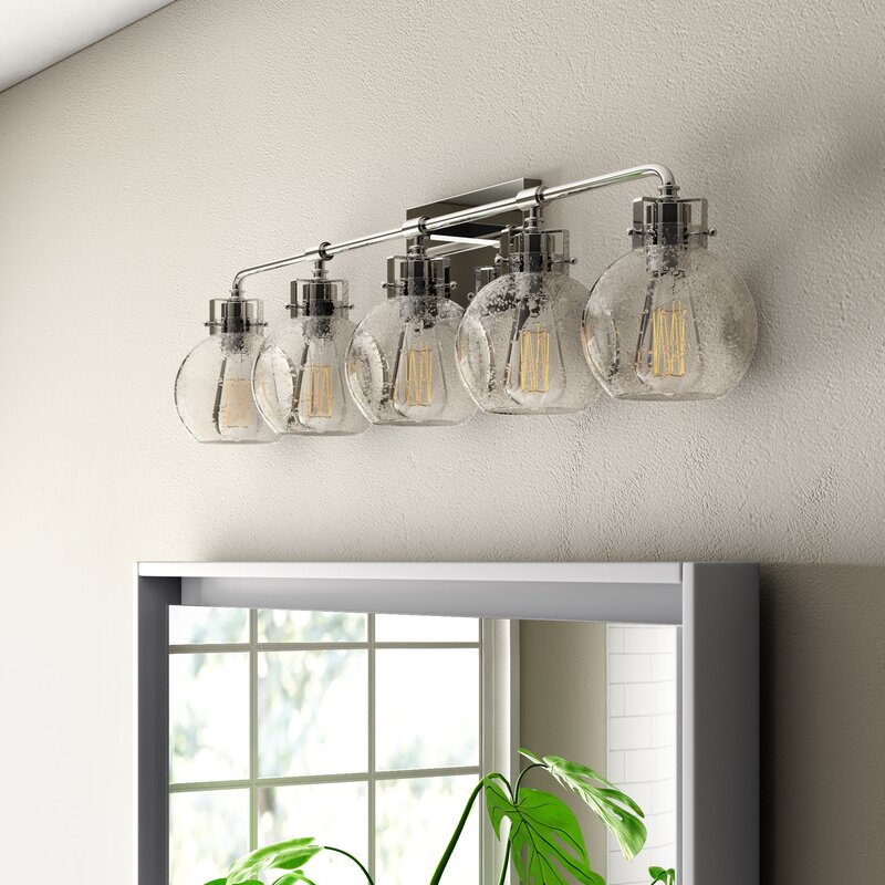 Wrought Studio Michelson 5 Light Vanity Light Amp Reviews