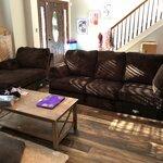 charlton home ellicottville u shaped sectional reviews. Black Bedroom Furniture Sets. Home Design Ideas