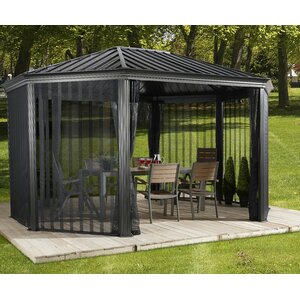 Komodo 18 Ft. W x 12 Ft. D Metal Permanent Gazebo