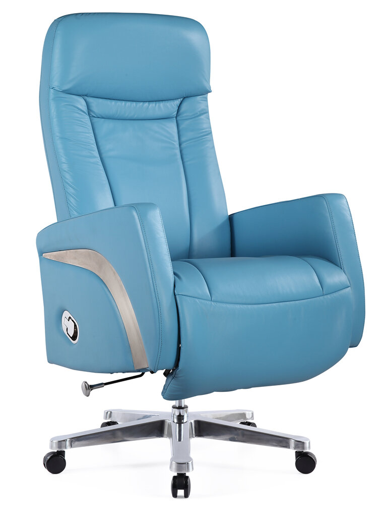 Ordinaire Felica Genuine Leather Executive Chair