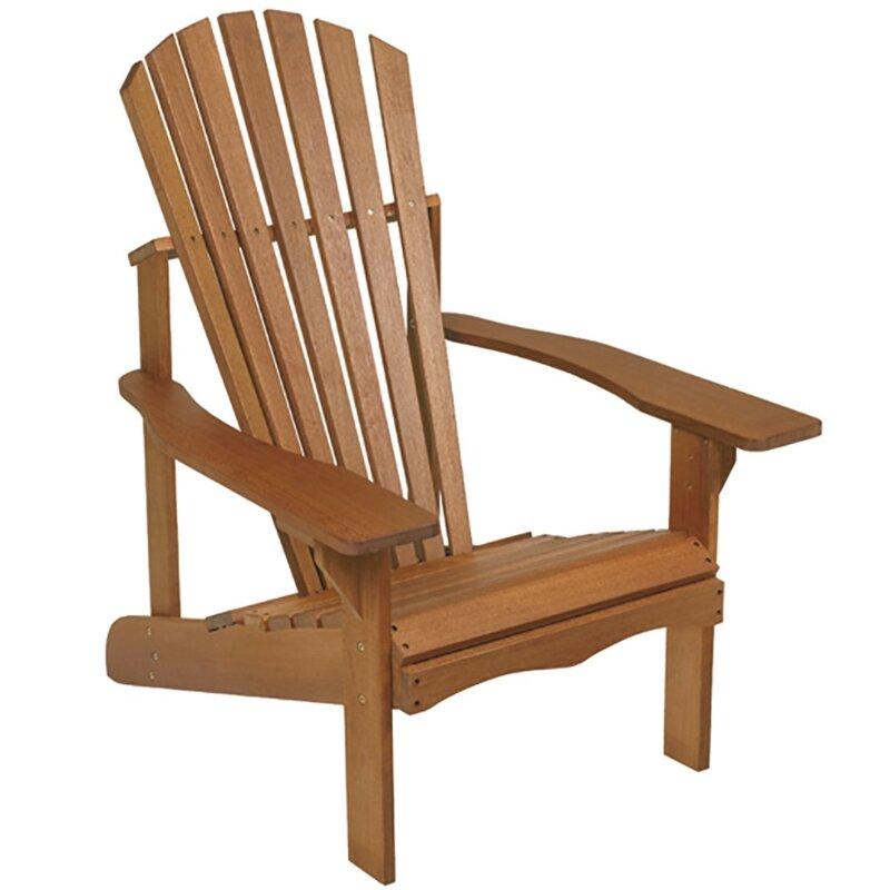 Phat Tommy Lodge Wood Adirondack Chair