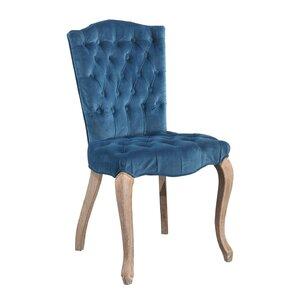 Manlius Vintage Tufted Velvet Upholstered Dining..