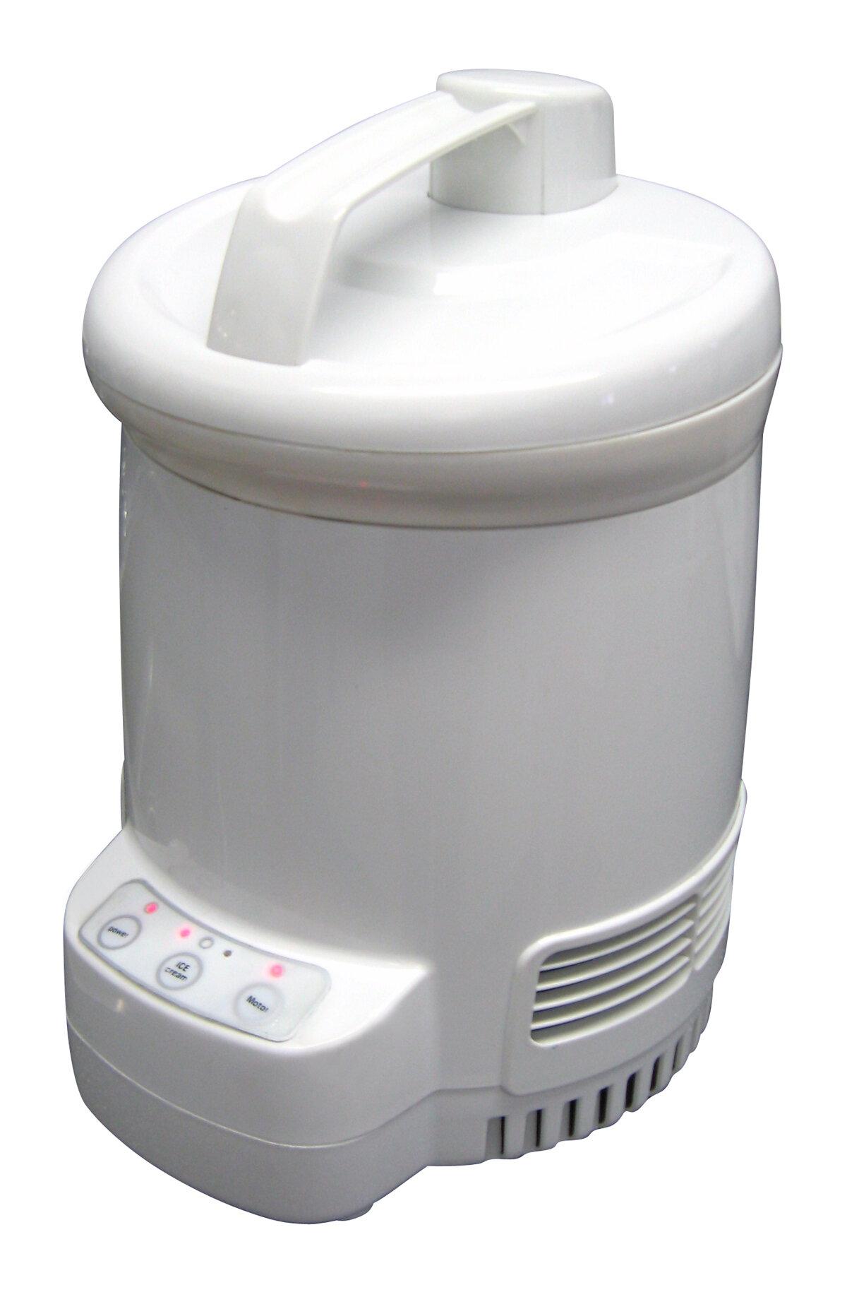 koolatron total chef ice cream maker wayfair rh wayfair com Yogurt Maker Machine Euro Cuisine Yogurt Maker