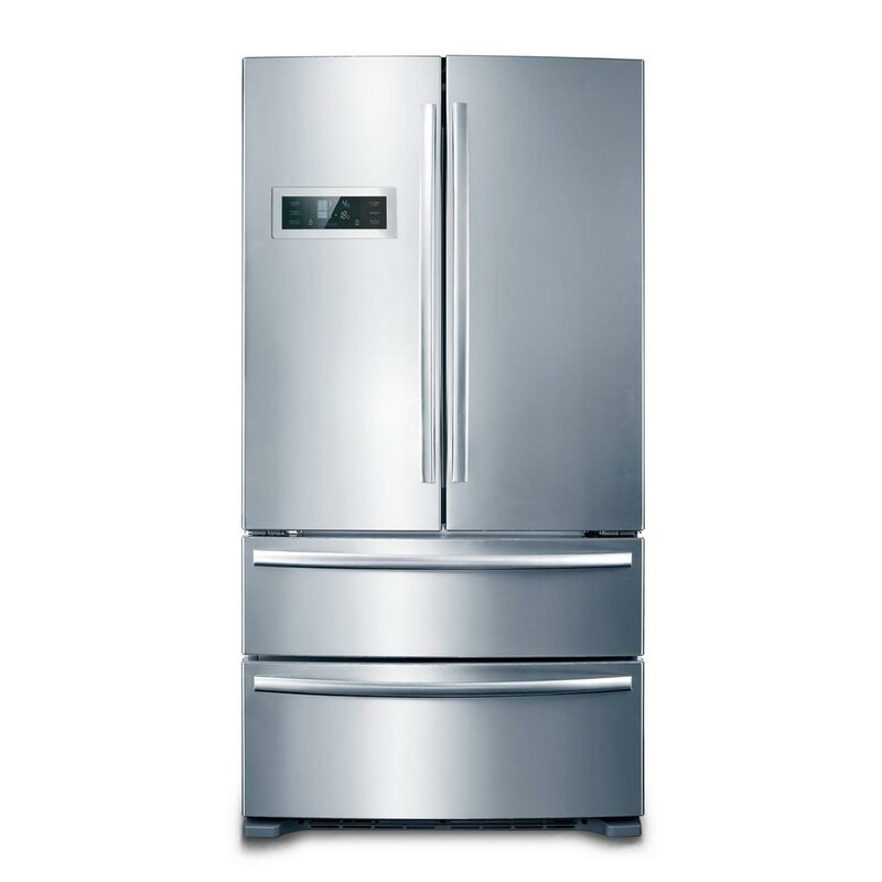 Superbe Counter Depth 4 Door Counter Depth French Door Refrigerator