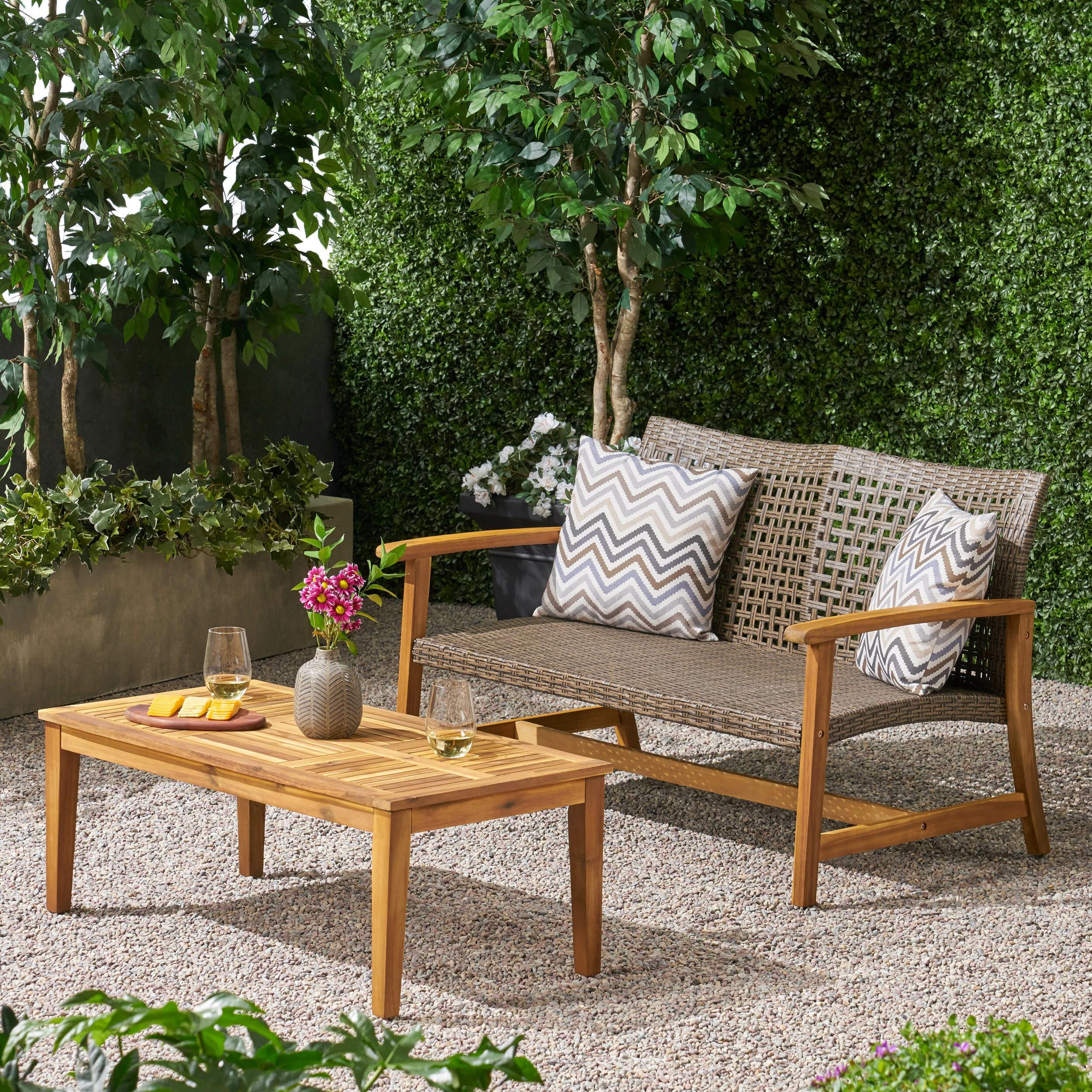 Bayou Breeze Spann 2 Piece Sofa Seating Group Wayfair