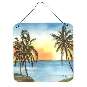 Palm Tree Wall Art Plaque Part 56