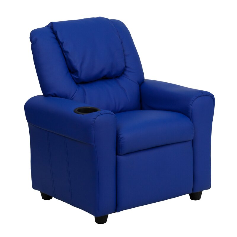 Candy Kids Recliner with Cup Holder  sc 1 st  Wayfair & Zoomie Kids Candy Kids Recliner with Cup Holder u0026 Reviews | Wayfair islam-shia.org