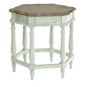 Tisha End Table by August Grove
