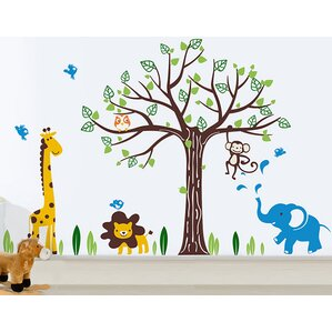 Happy Zoo Wall Decal Part 95