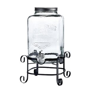 2 Piece Beverage Dispenser Set