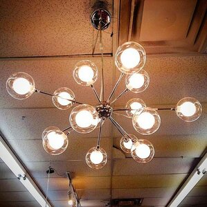 Trey 15 Light Sputnik Chandelier