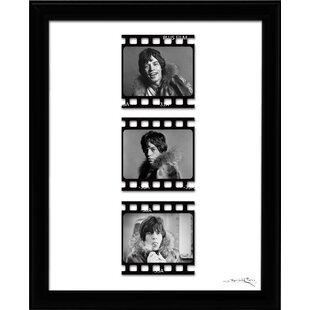 Mick Jagger Film Cellu0027 Framed Fairchild Paris Wall Art