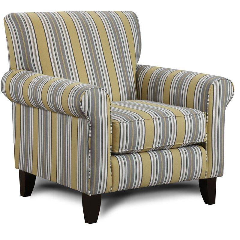 Cargin Striped Armchair