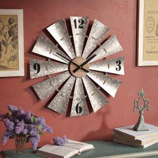 fresh idea whimsical clocks. Oversized Windmill 28 5  Wall Clock Wayfair