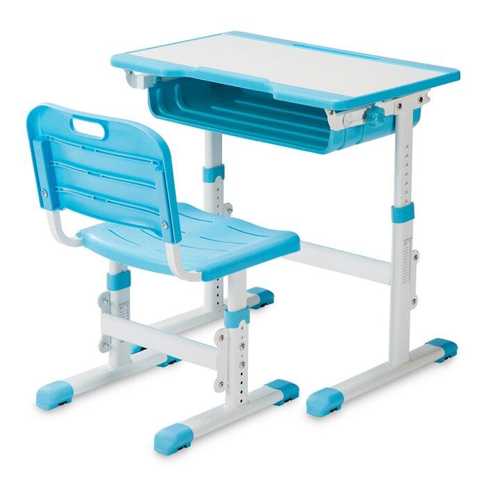 Phenomenal Renfroe Height Adjustable Childrens Art Desk Download Free Architecture Designs Embacsunscenecom