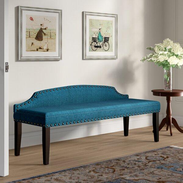 Upholstered Bedroom Sets Bedroom Window Bench Bedroom Hanging Cabinet Main Bedroom Colours Ideas: Millersburg Upholstered Bench & Reviews