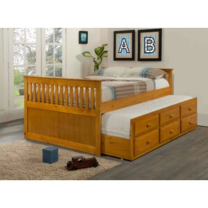 captain bed with trundle - Captain Bed