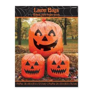 3 Piece Halloween Lawn Bag Set