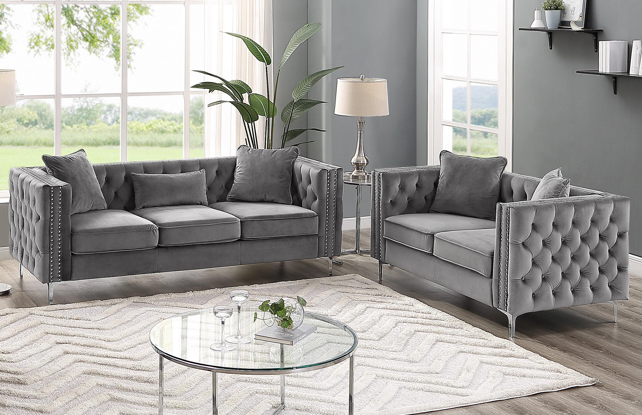 Grey Living Room Sets You\'ll Love in 2019 | Wayfair
