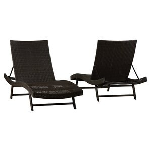 Klause Patio Lounger (Set of 2)  sc 1 st  Joss u0026 Main : chaise main - Sectionals, Sofas & Couches