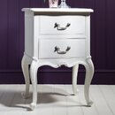 Parisian House 2 Drawer Bedside Table