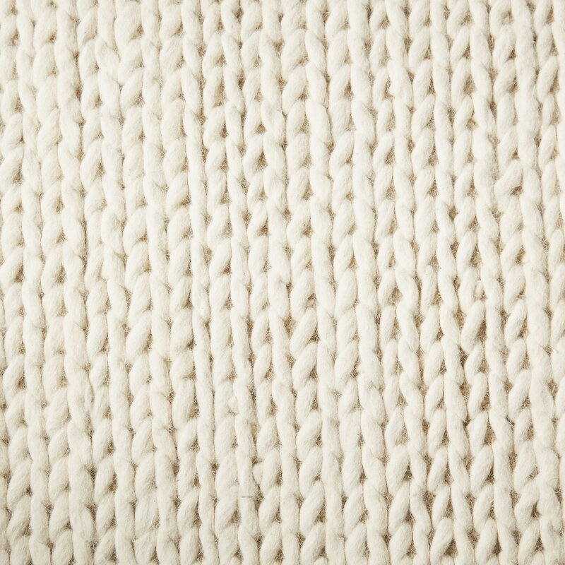 Langley Street Arviso Hand Woven Wool Off White Area Rug